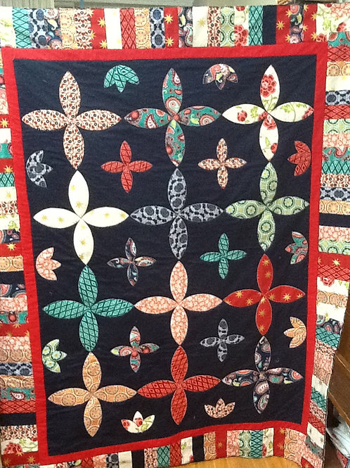 Daisy Chain- Quilt Top Kit