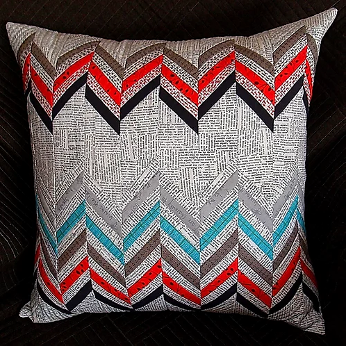 Michelle Marvig Split Chevron Cushions