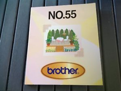 Brother Embroidery Card - 55
