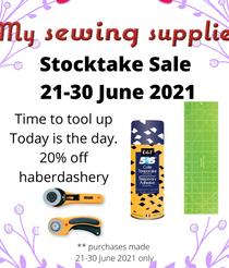 The end of the sale starts with lots of specials each day...