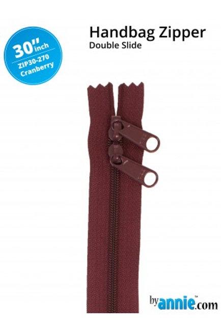 ByAnnie – 30 inch Zipper Cranberry