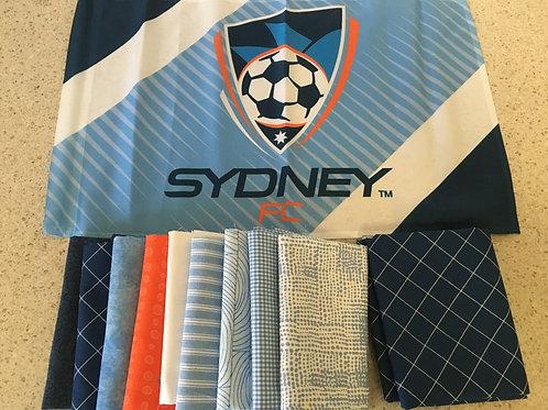Sydney FC Quilt Top Kit