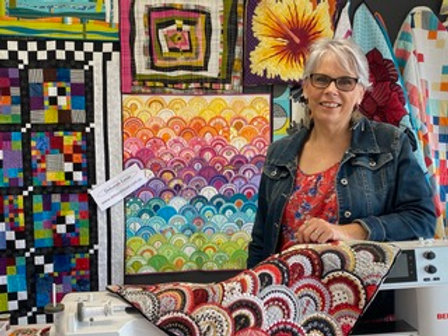 Wednesday Deborah Louie - Machine Quilting and Applique