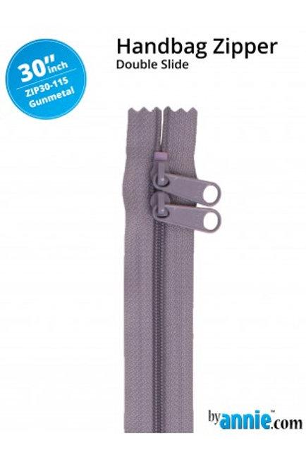 ByAnnie – 30 inch Zipper Gun Metal