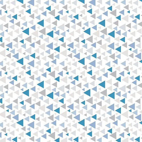 Baby On Trend - Triangles Dove Blue DV3333