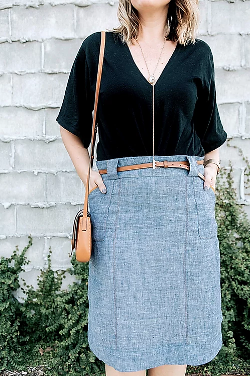 Sew To Grow Stella Skirt