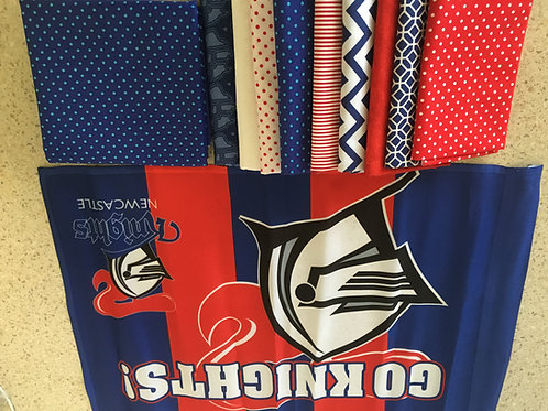 Newcastle Knights Quilt Top Kit
