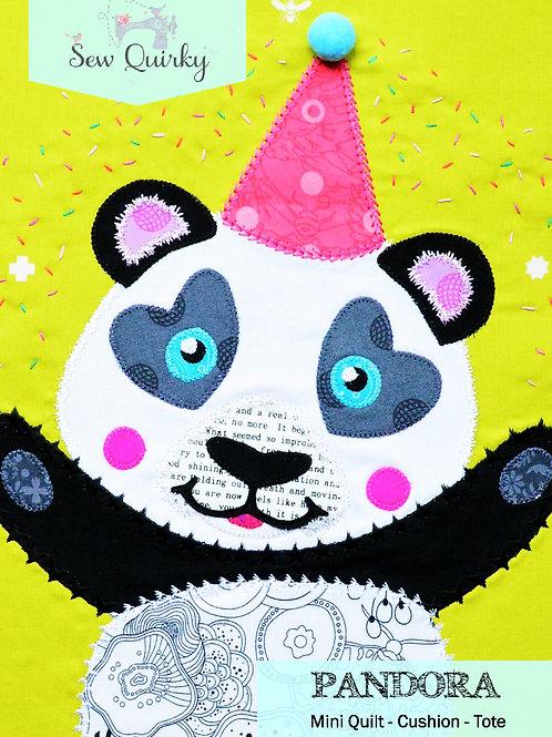 Sew Quirky Pandora Panda