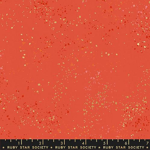 Ruby Star Speckled Metallic Festive