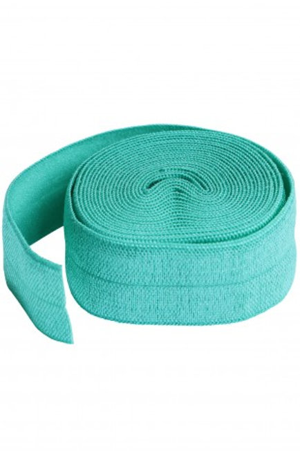 ByAnnie – Fold Over Elastic Turquoise