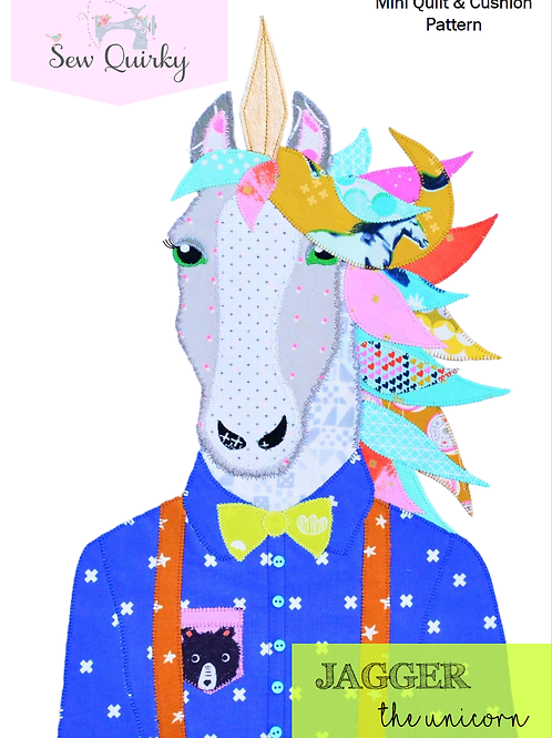 Sew Quirky Jagger The Unicorn