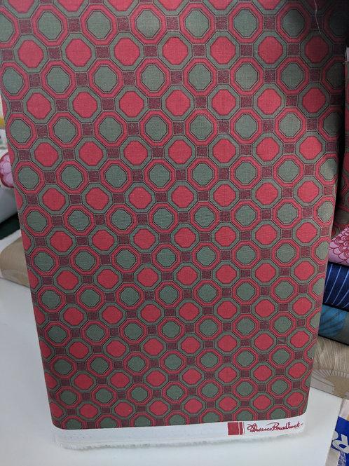Florence Broadhurst $28/m Romantic Rebel Octagonal Couture
