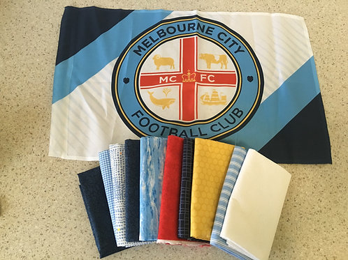 Melbourne City FC Quilt Top Kit