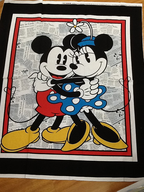 Quilt Top Kit - Vintage Micky and Minnie