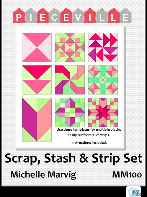 Michelle Marvig Scrap, Stash & Strip Set MM100