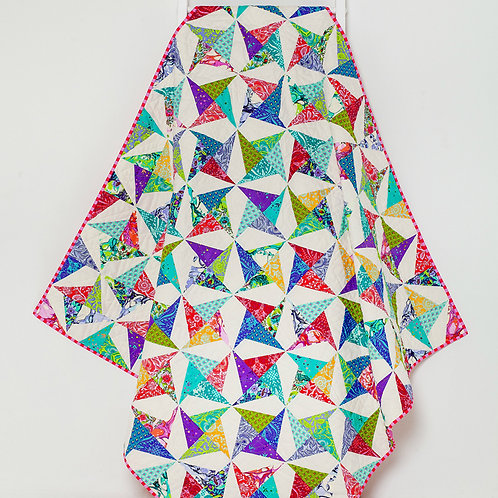 Tied With a Ribbon Confetti Quilt