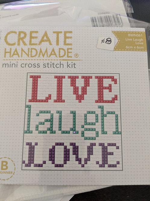 Create Handmade Mini Cross Stitch