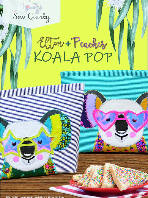 Sew Quirky Koala Pop