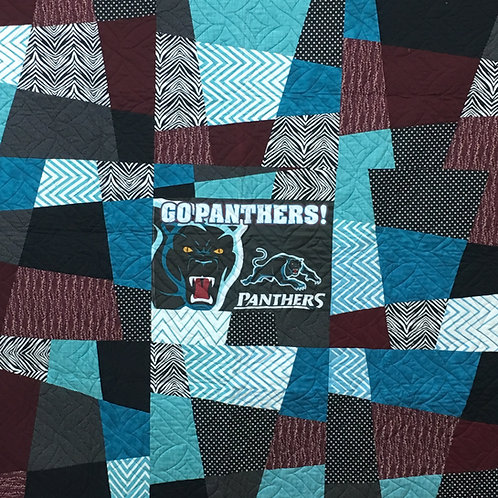 Penrith Panthers Quilt Top Kit