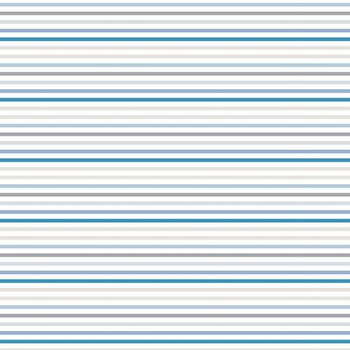 Baby On Trend - Stripe Dove Blue DV3334