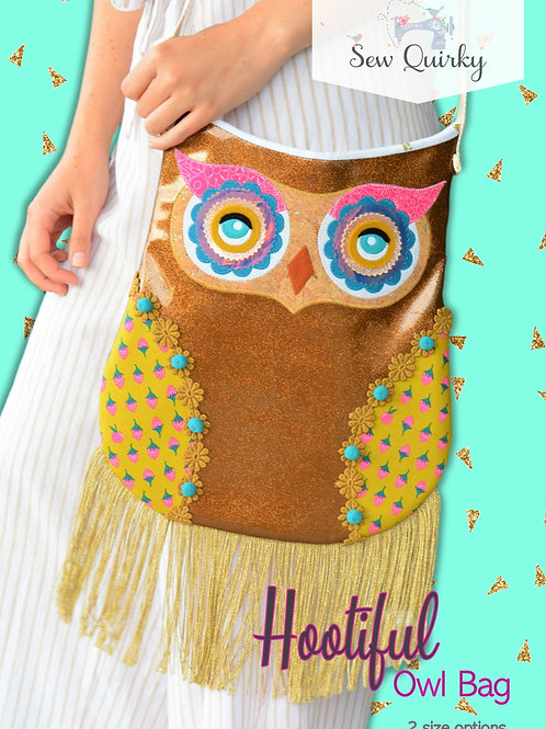 Sew Quirky Hootiful Owl Bag