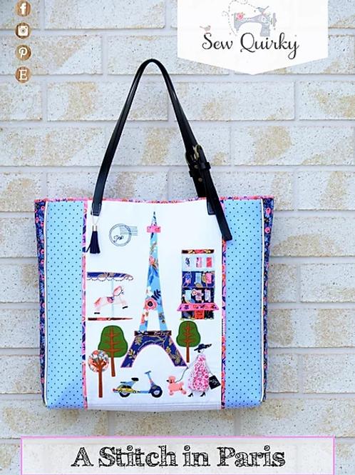 Sew Quirky A Stitch in Paris Bag