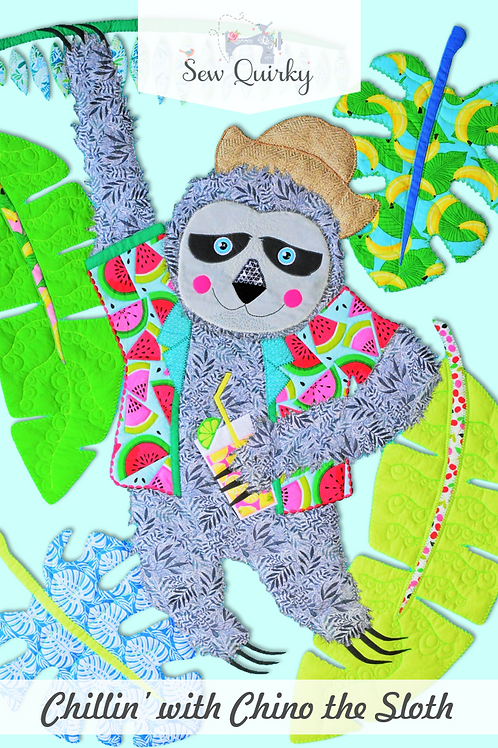 Sew Quirky Chillin With Chino the Sloth