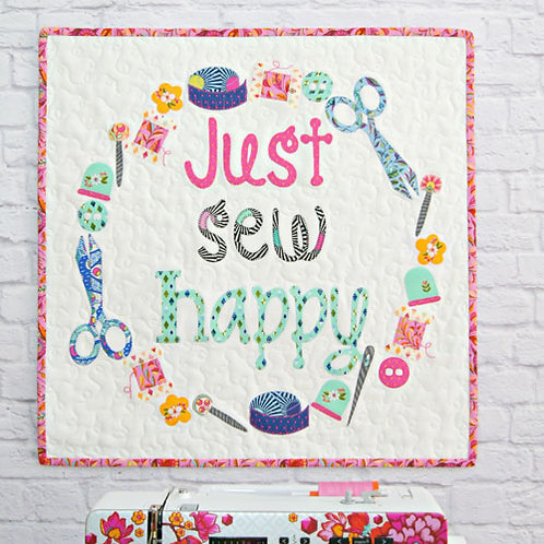 Tied With a Ribbon Just Sew Happy
