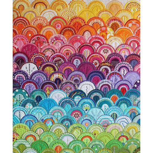 Deborah Louie - Glamorous Clams Cushion/Wall Hanging: Book & Templates