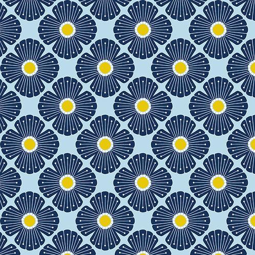 On A Spring Day - LV402-LB2 - Blossom - Light Blue Fabric