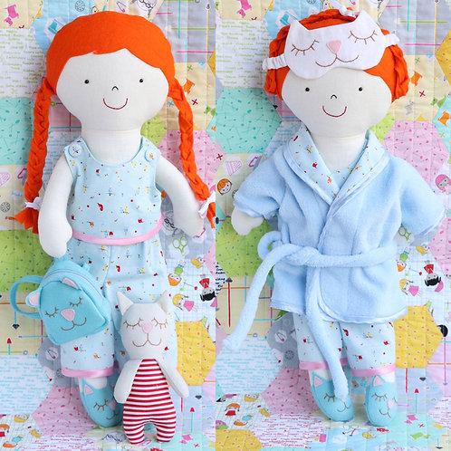 Ric Rac Addie Soft Doll