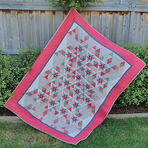 Zoe Clifton Floral Bunting Quilt
