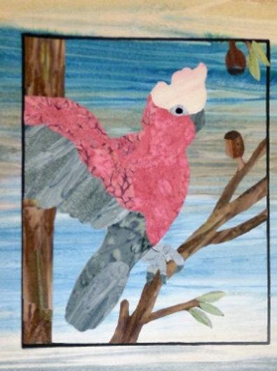 Quilt Top Kit - Batik Cockatoo1/4 panel 1