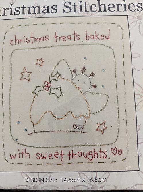 Stitchery kit - Christmas Stitcheries