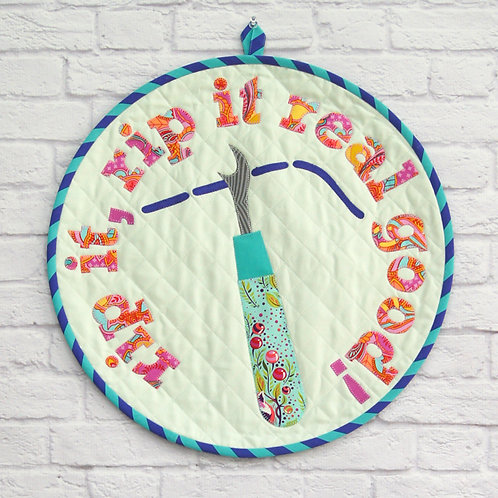 Tied With a Ribbon Rip It Mini Quilt