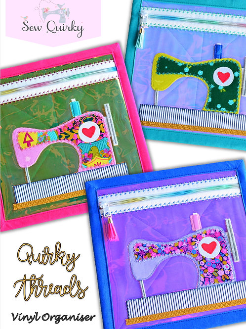 Sew Quirky - Quirky Threads Vinyl Organiser