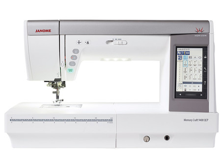 February special for Janome's Quilting month. MC9400 only $4,399 save $600.
