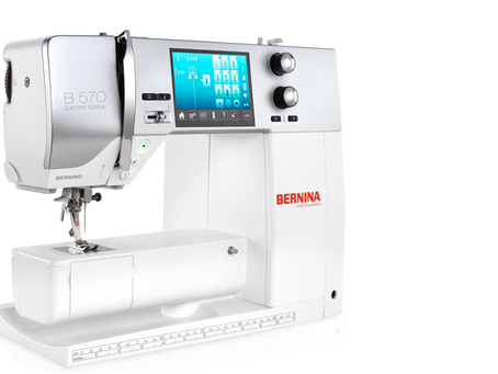 New Bernina B570QE now in store