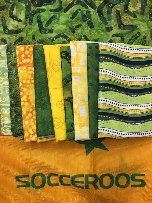 Socceroos Quilt Top Kit