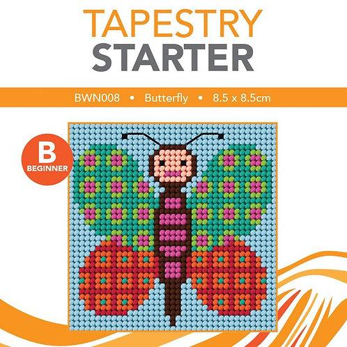 Tapestry Starter Kit Butterfly