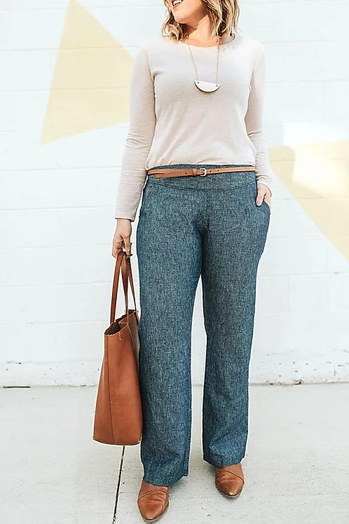 Sew To Grow Port City Pants
