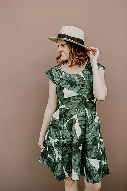 Sew To Grow Sweet Summertime Dress