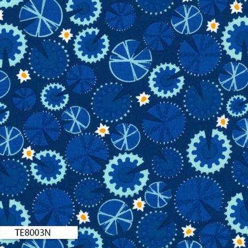 Royal Ella Blue - Blue / Navy TE8003N Pond Life Claire Turpin $18/m