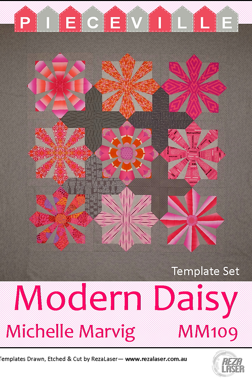 Michelle Marvig - Modern Daisy Template