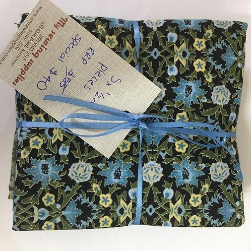 William Morris 1/2m pack 6
