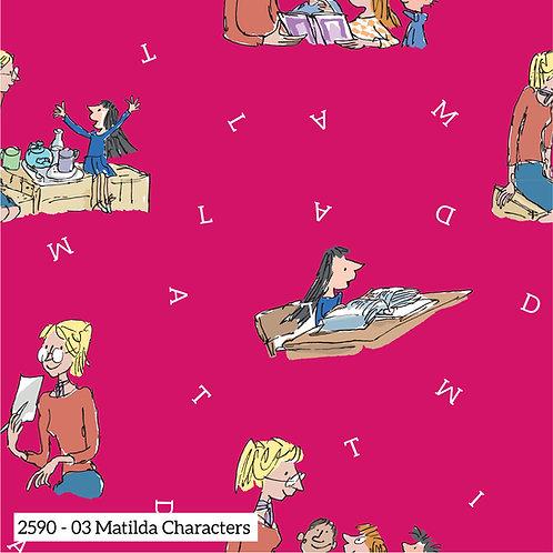 Matilda Roald Dahl - design 3