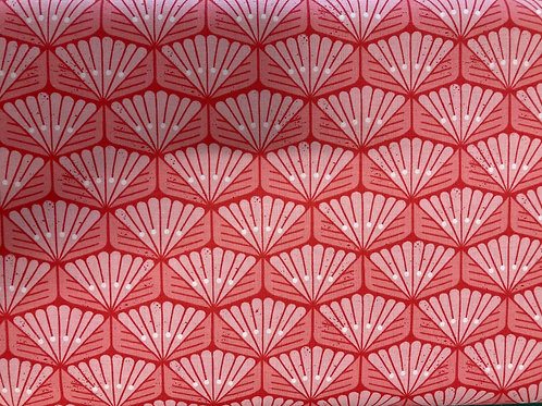 On A Spring Day - LV404-RB3 - Sun Beam - Rosy Blush Fabric
