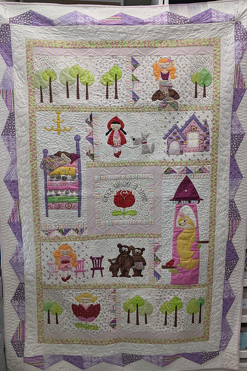 Bedtime Stories Block of the Month - Month 1