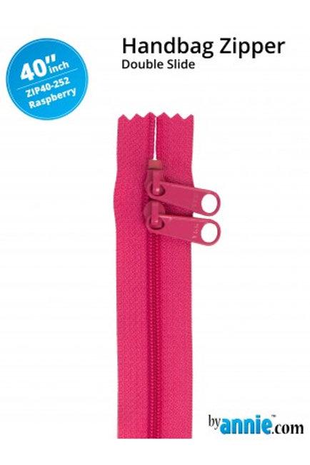 ByAnnie – 40 inch Zipper Raspberry