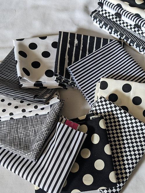 Black and White Geometric Starter Pack